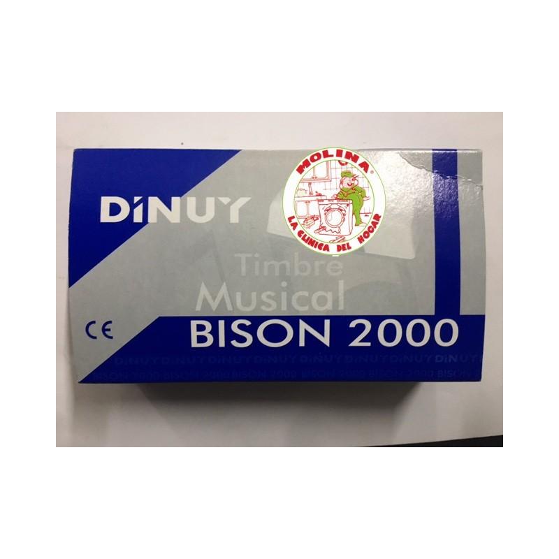 Timbre bison 2000 6v Dinuy bison 2000
