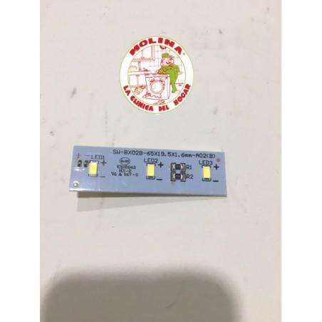 Módulo electrónico LED alumbrado frigorífico Candy.