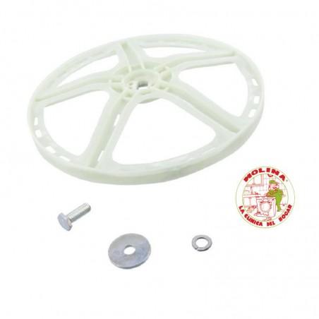 Polea bombo lavadora Electrolux diam. 27,3 cm.