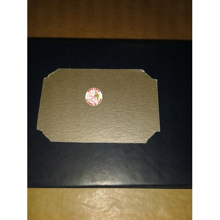 Tapa ondas cirilite, mica, microondas 7x10,5 cm. Teka.