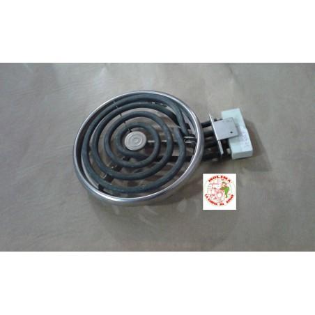 Placa, resistencia, calefactor, espiral cocina Edesa, 1250W, 220V.