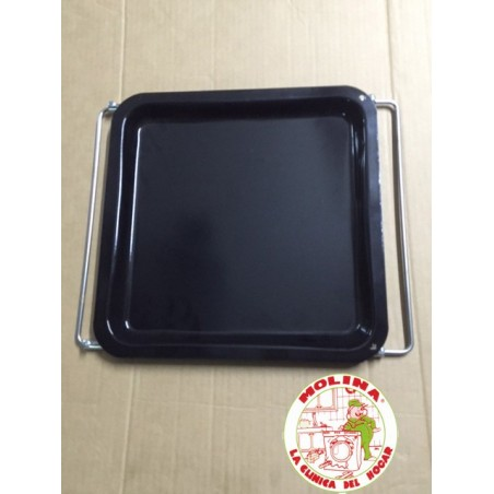 Bandeja horno standard 36,5x33,5cm. extensible.