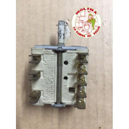 Conmutador horno c/ termostato.