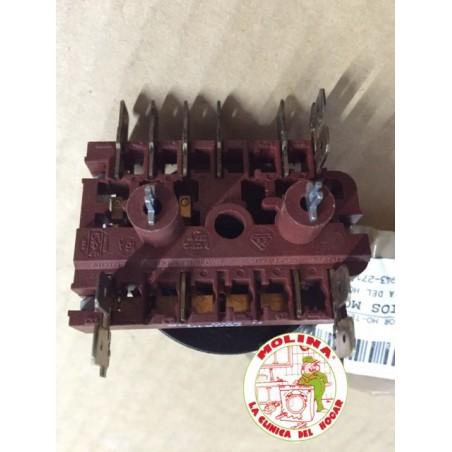 Conmutador horno 4 posiciones c/ termostato.