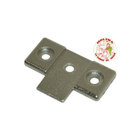 Soporte-bisagra puerta panelable lavadora grupo Electrolux, Zanussi.