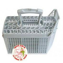 Cesto cubiertos lavavajillas grupo electrolux, 25x13,5x15,5cm.