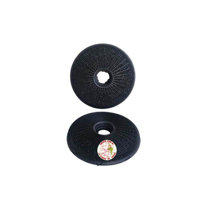 Filtro carb n activo campana candy diam 20cm 2 unidades molina - Campana carbon activo ...