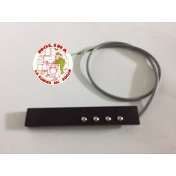 Circuíto-tarjeta electrónica campana extractora Teka 4 teclas.