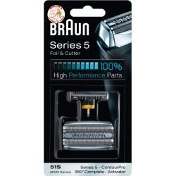 Lámina+cuchilla afeitadora Braun serie 5.