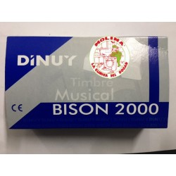Timbre puerta Dinuy Bison 6v.