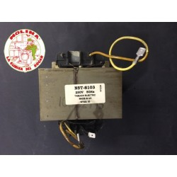 Transformador microondas standard, 220V, 50Hz, todas las marcas,