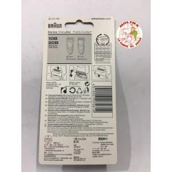 Lámina+cuchilla afeitadora Braun 10B/20B
