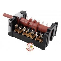 Conmutador, interruptor horno Beko, 5 posiciones.,