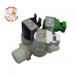 Electroválvula triple lavadora grupo Electrolux 180º.