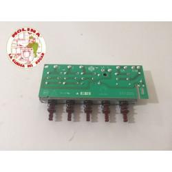 Tecladora campana extractora Fagor, Aspes, Edesa, 5 teclas.