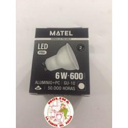 Bombilla LED GU10 6W 220V....