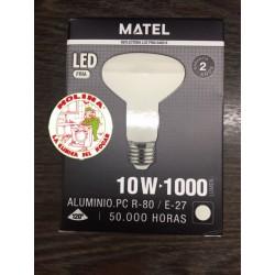 Bombilla LED MUNDO R80 E27...