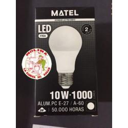 Bombilla LED MUNDO A60 10W,...