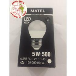 Bombilla LED MUNDO G45 E27,...