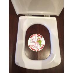 Tapa asiento inodoro Roca...