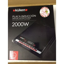 Placa inducción digital 2000 w. Küken