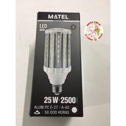 Bombilla LED tubular E27,...