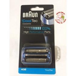 Lámina afeitadora Braun 40B, Cooltec,
