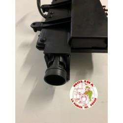 Tecladora campana extractora Frecan 5 teclas con carcasa.