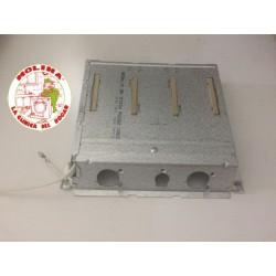 Resistencia, calefactor secadora Miele 2500W, 220V.