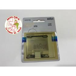 Lámina afeitadora Braun.
