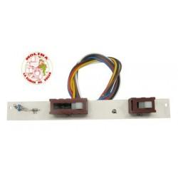 Circuito electrónico campana extractora Teka con interruptores, 175x2 mm. con cables.