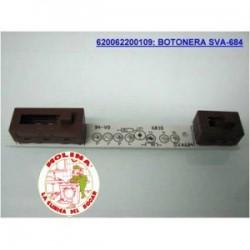 Circuito electrónico campana extractora Pando, 12,7x1,5 cm.