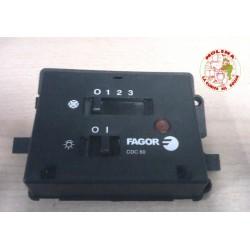 Circuito, Tarjeta,   electrónica campana extractora  con panel de mandos.