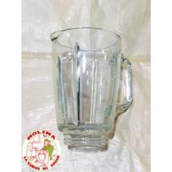 Jarra batidora de vaso Fagor, Orbegozo,  cristal