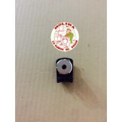 Válvula pesa olla Fagor, roja, rectangular.