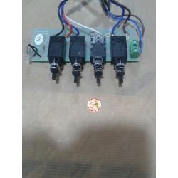 Circuito electrónico campana extractoraTeka, 4 teclas.