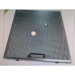 Filtro metálico campana extractora Grupo Ulgor(Fagor, Aspes, Edesa) 28x35,8 cm. 1 unidad