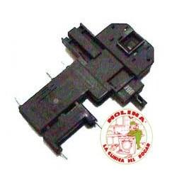 Interruptor, cierre retardado, puerta escotilla, lavadora Bosch, Balay