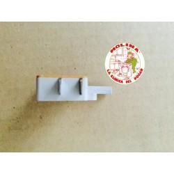 Interruptor, cierre retardado, puerta escotilla, lavadora Zanussi, Corberó.
