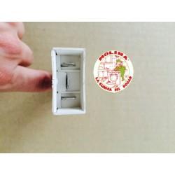 Interruptor, cierre retardado, puerta escotilla, lavadora, Candy, Scari.