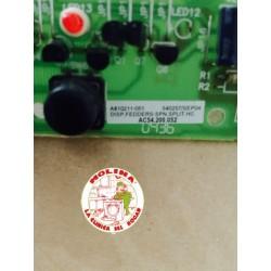 Circuito electrónico mandos aire acondicionado Bosch.