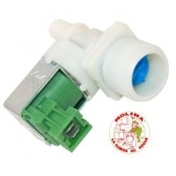 Electroválvula simple 180º Lavadora, Whirlpool,Philips, Ignis,  Electrolux, 220V 1 via.