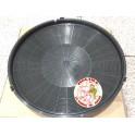 Filtro carbón activo campana Nodor, 1 unidad diam. interior 31,7 cm.