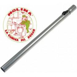 Tubo telescópico aspirador diam. 35mm. cromado.