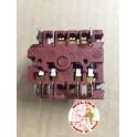 Conmutador horno 4 posiciones s/ termostato, BOSCH, BALAY. CROLLS, LG, LYNX, SUPERSER,...