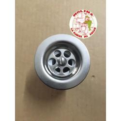 Válvula fregadera/lavabo-sifón flexible diam. 35mm.