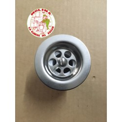 Válvula fregadera/lavabo, sifón flexible diam. 40mm.