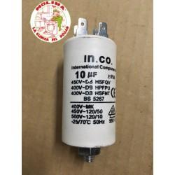 Condensador 10mf. 450v....