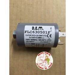 Condensador antiparasitario...