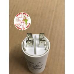 Condensador 12mf. 450v régimen continuo.